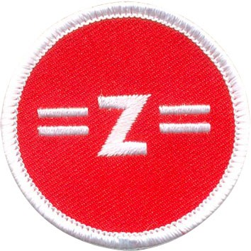 """6.5"""" Embroidered Patch (50%)"""