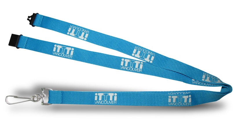 "1"" Imprinted Nylon Lanyards"